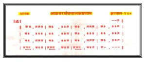 Adhya Sarsanghchalak Pranam -Aanak